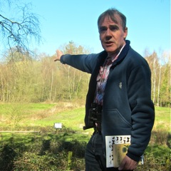 Andy Barker at Hocombe Mead Guided Walk