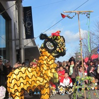 Lion Dance 2014 in Southampton