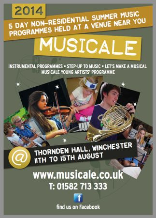 Musicala 2014 at Thornden Hall, Chandler's Ford.