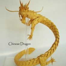 Image by Pak Hei Chan. Folded by Kade Chan 2010. Chinese Drago.