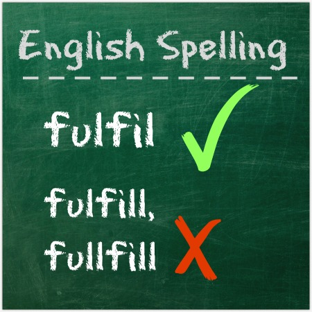 English Spelling - single L or double L?
