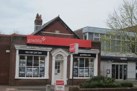 Goadsby estate agents support Eastleigh Basics Bank.