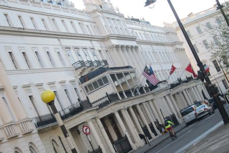 Malaysian High Commission 45 Belgrave Square, London.