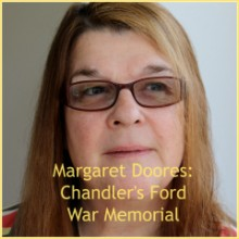 Chandler's Ford War Memorial. Can You Help?