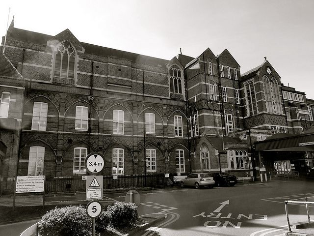 Butterfield Wing (North) Winchester Hospital 1868.  Image by  Duncan Toms via Flickr.