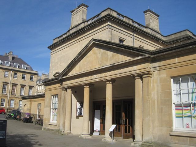 The Bath Assembly Rooms, well known to Jane Austen. Mrs Bennett and her daughters.