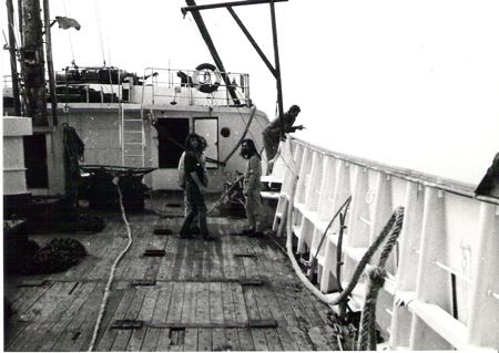 Radio Caroline ship.