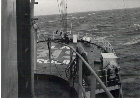 Radio Caroline. Image credit: Chippy Minton.