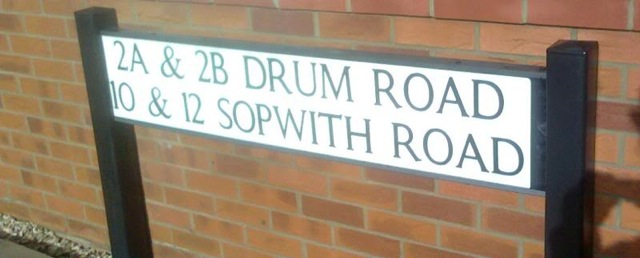 Drum Road and Sopwith Road, Eastleigh