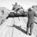 Israeli Tanks Cross the Suez Canal.