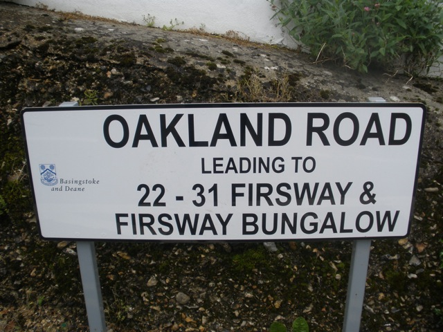 Oakland Road, Basingstoke and Deane