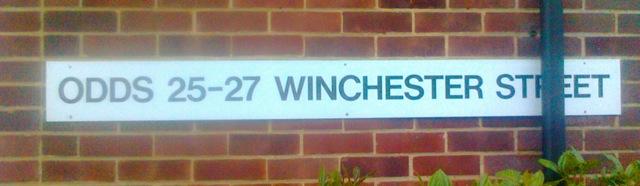 Odds 25 - 27 Winchester Street