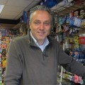 Tony Roberts, owner of D & G Hardware and Homeware.