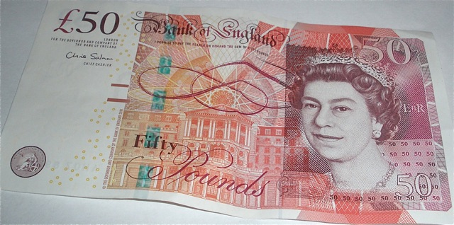 £50 note.