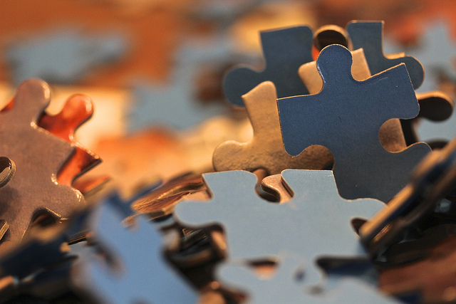 jigsaw image by Cindee Snider Re via Flickr.