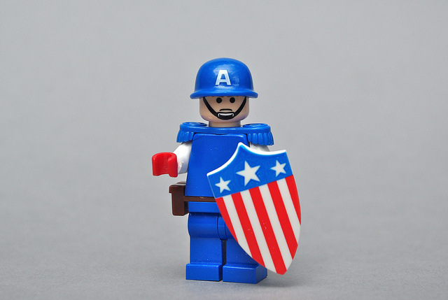 Captain America - image by Andrew Becraft via Flickr.