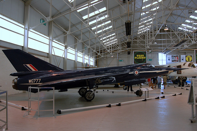 Fairey Delta 2 - image by Geoff Collins via Flickr.