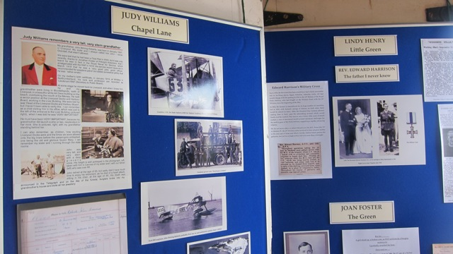 Sharing the family history - Pirbright village.