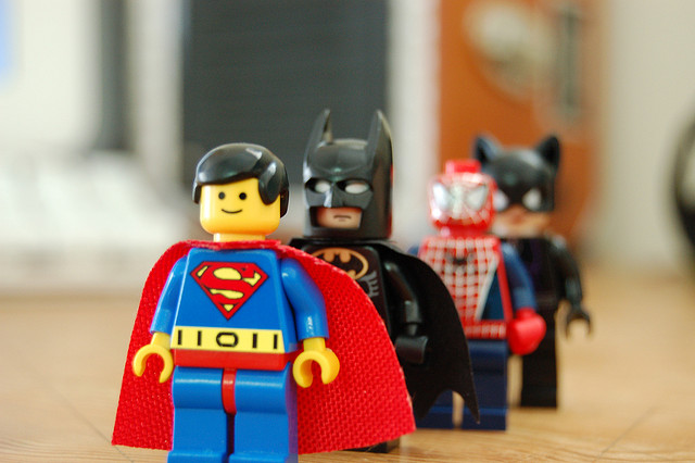 Heroes - image by Angelina via Flickr.