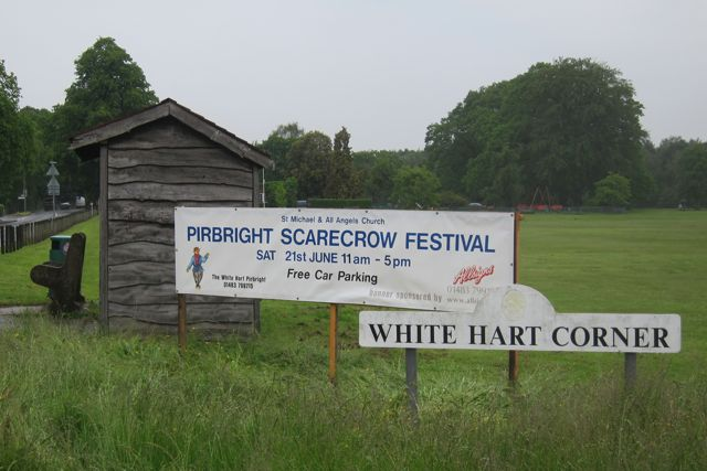 Pirbright Scarecrow Festival on 21st June 14.