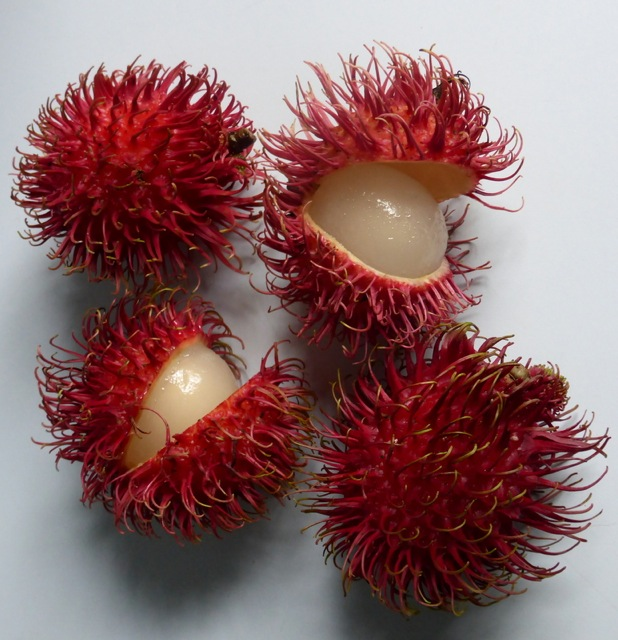 Lovely juicy Rambutan