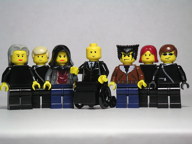 The X-Men. Image by Andrew Becraft via Flickr.