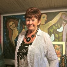 Chandler's Ford Artist Ann Burry At Modies Place