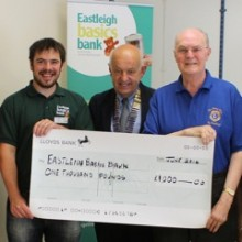 Eastleigh Lions: £1000 To Eastleigh Basics Bank