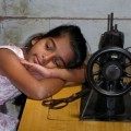 Sri Lankan girl at workshop