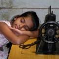 Sri Lankan girl at workshop