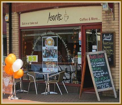 Asante, Winchester Road, Chandler's Ford. Asante to open to raise funds for Marie Curie Cancer Care.