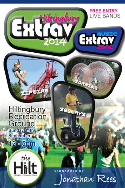 Hiltingbury Extravaganza 2014: Sunday 14th September 12pm to 5pm