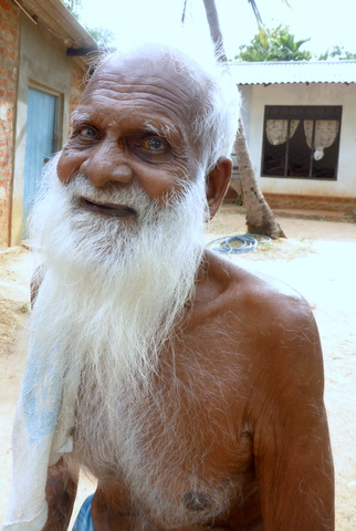 108 years old man in Sri Lanka - and is still working.