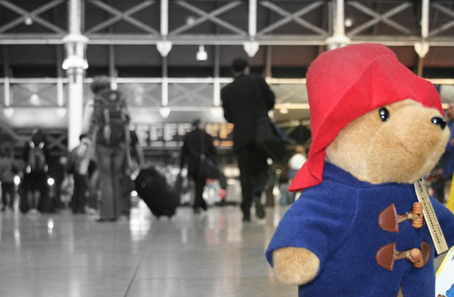 "Paddington Bear by <a href=""https://www.flickr.com/photos/bluebluewater/134173601/in/set-72057594115697280/"">Antony Robinson</a> via Flickr."