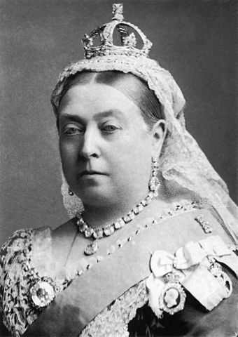 """Queen Victoria by Bassano"" by Alexander Bassano - Scanned from the book The National Portrait Gallery History of the Kings and Queens of England by David Williamson, ISBN 1855142287, p. 153.. Licensed under Public domain via Wikimedia Commons - http://commons.wikimedia.org/wiki/File:Queen_Victoria_by_Bassano.jpg#mediaviewer/File:Queen_Victoria_by_Bassano.jpg"