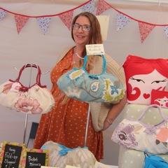 Soma Daya freebird in Eastleigh craft market.