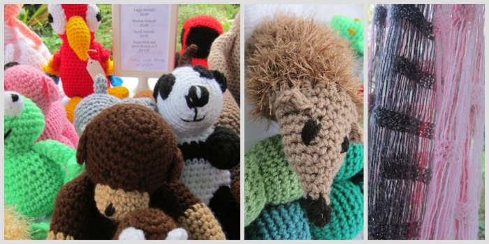 Adorable crochets by Sue and Rachel Potter from Southampton.