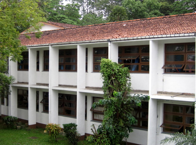 Ward block. Peradeniya Teaching Hospital, Sri Lanka.
