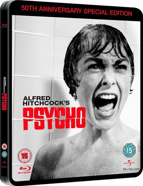 "Hollywood actress Janet Leigh in Alfred Hitchcock's masterpiece Psycho. There was a shocking 48-second shower scene. Image by <a href=""https://www.flickr.com/photos/brizzlebornandbred/5064926974"">Paul Townsend</a> via Flickr."