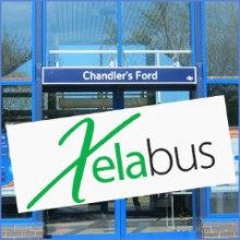 New Chandler's Ford – Southampton Airport Parkway Station Bus Service