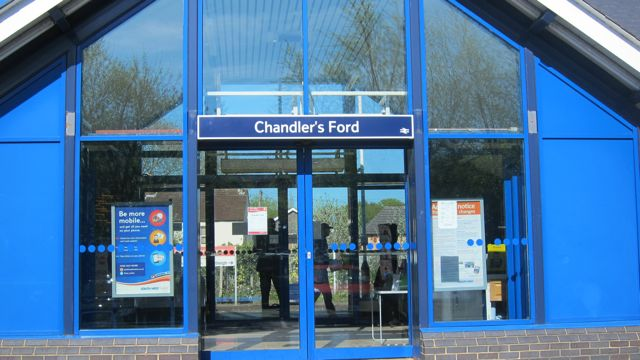 Chandler's Ford train station