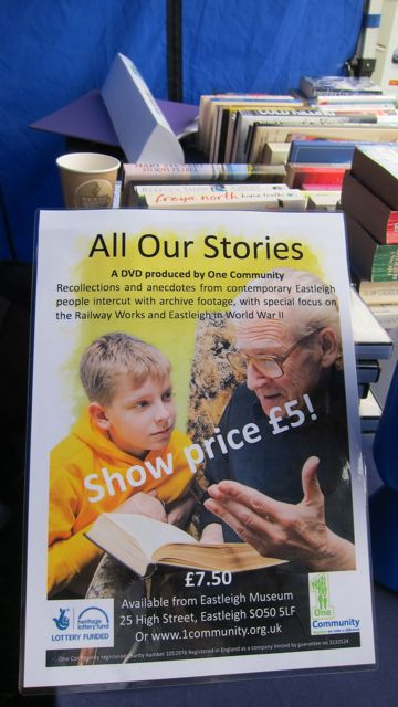 All Our Stories DVD - history - recollections and anecdotes from contemporary Eastleigh people intercut with archive footage.
