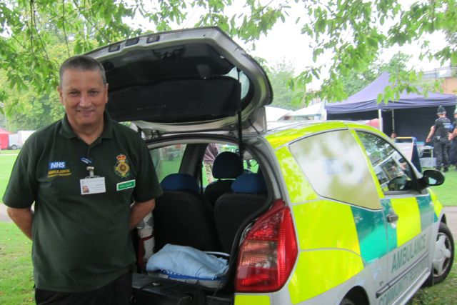 Malcolm Wing - Eastleigh College lecturer and Community First Responder.