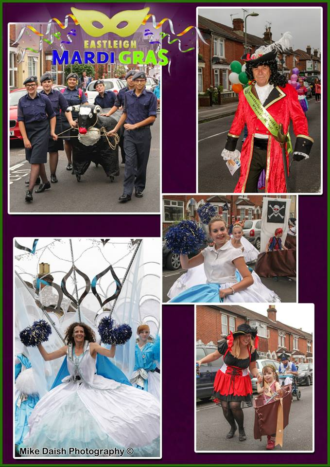 "Joyful Eastleigh Mardi Gras parade 2014.  (Image credit: <a href=""http://www.mikedaishphotography.co.uk/"">Mike Daish Photography</a>."