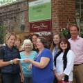 Brambridge crafters raised money for Hampshire Riding Therapy Centre.
