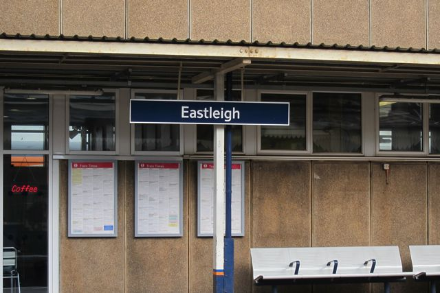 From Eastleigh to London
