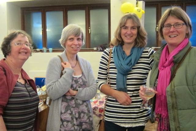 Friends from the Methodist Church: (Left to right): Jane Padley, Christine Slatcher, Sara Goodhead, and Sue Wakelin.
