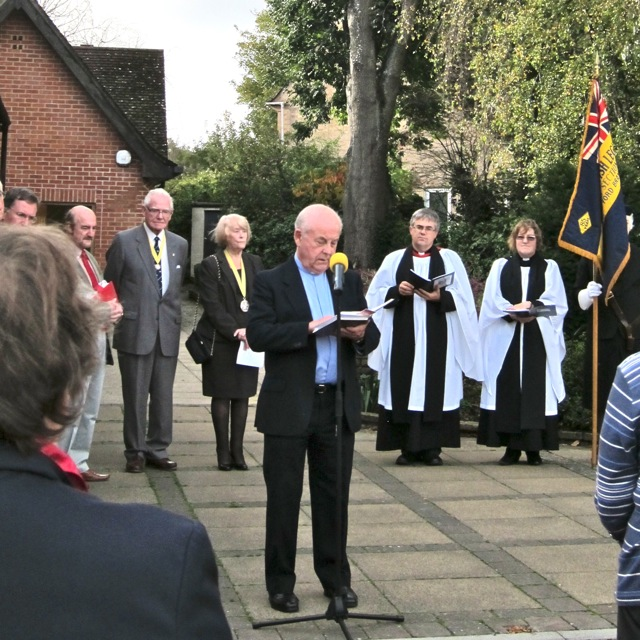 The Reverend John Archer from the Methodist Church.