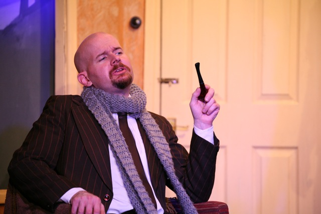 Professor Marcus is played by Matthew Meehan.