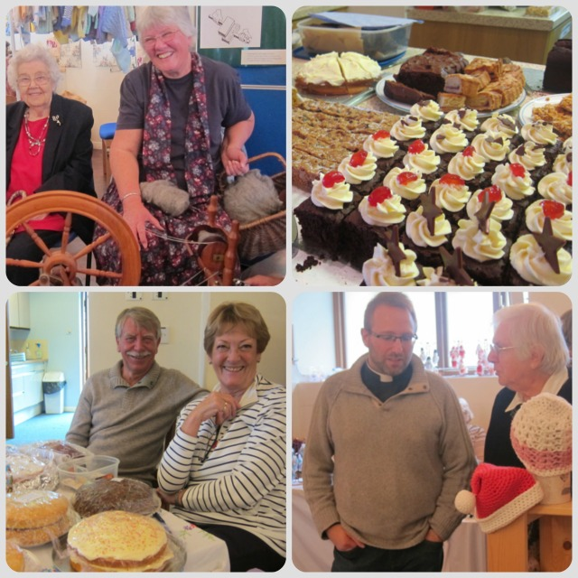 Lovely atmosphere: Craft & cakes 2013 at St. Martin in the Wood Church, Chandler's Ford.
